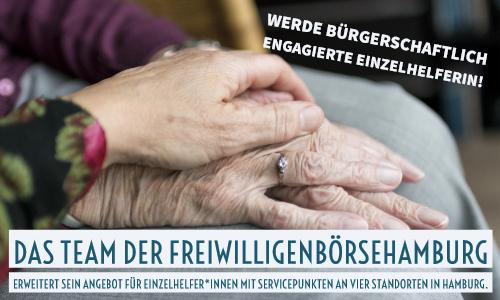 Bürgerschaftlich engagierte EinzelhelferInnen in Hamburg